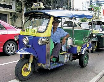 Bangkok, hlavní město Thajska